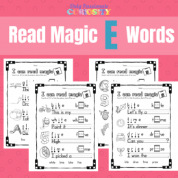 FREE Printable Magic E Worksheets: Long I