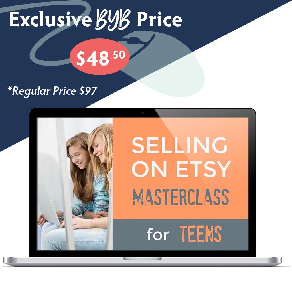 Build Your Bundle FLASH SALE! 50% Off Selling on Etsy Masterclass!