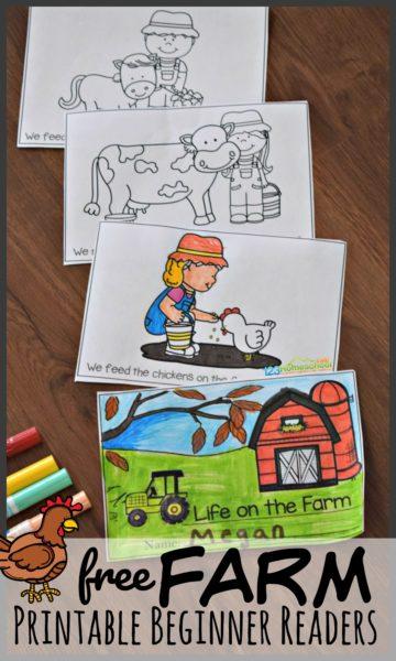 FREE Farm-Themed Beginner Readers