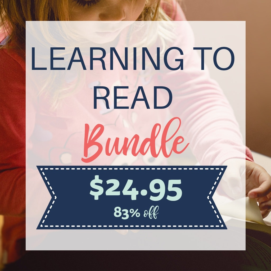 Learning to Read 83% off $24.95