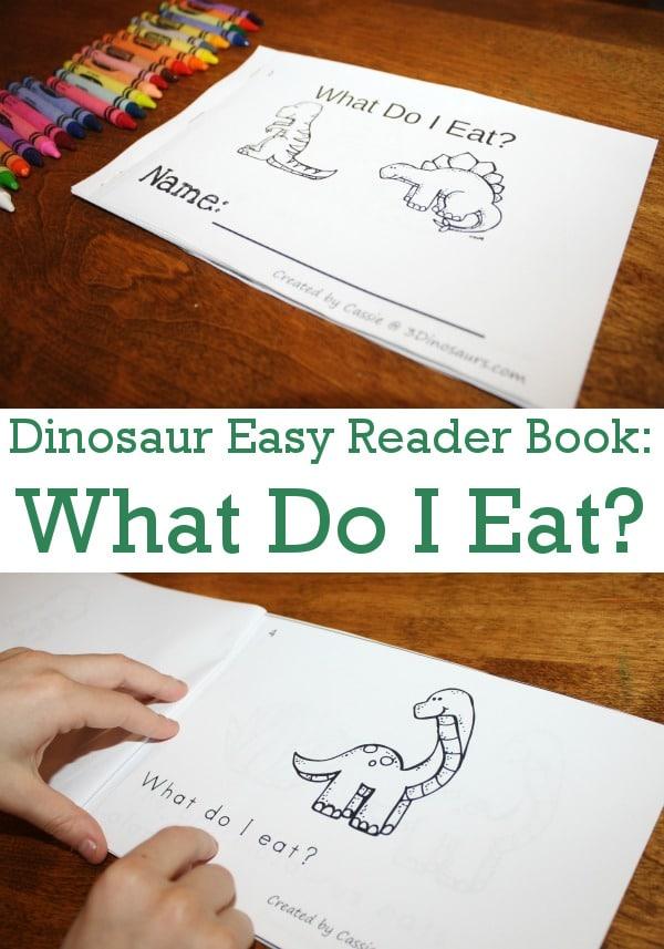 FREE Dinosaur Easy Reader
