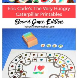 FREE Very Hungry Caterpillar Board Game