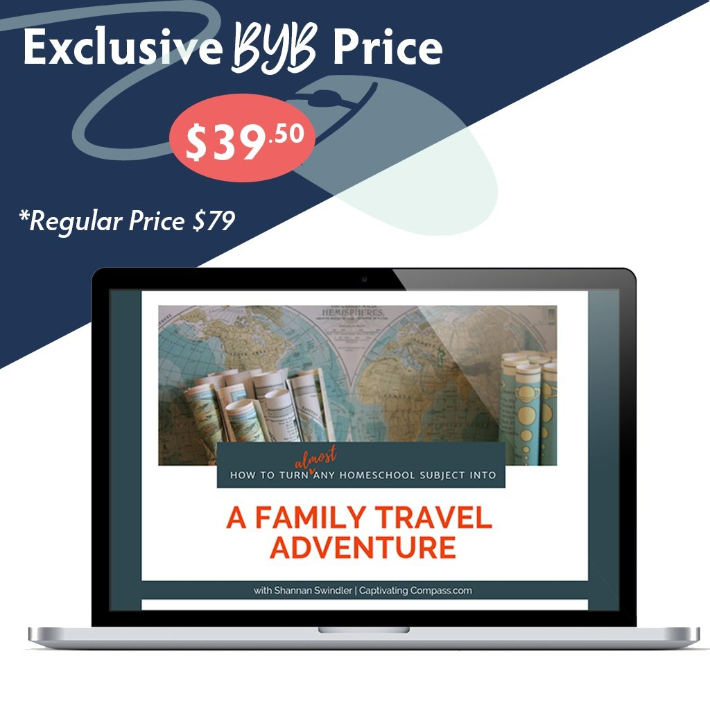Build Your Bundle FLASH SALE! 50% Off Turn Any Homeschool Subject into a Family Adventure!
