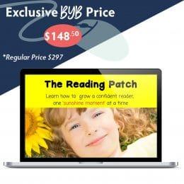 Build Your Bundle FLASH SALE! 50% Off The Reading Patch!