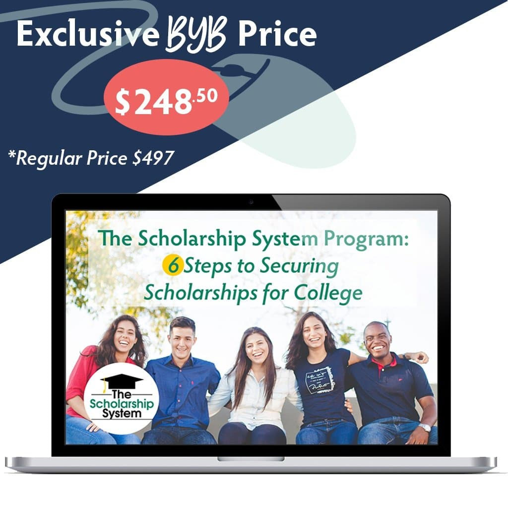 Build Your Bundle FLASH SALE! 50% Off 6 Steps to Securing College Scholarships!