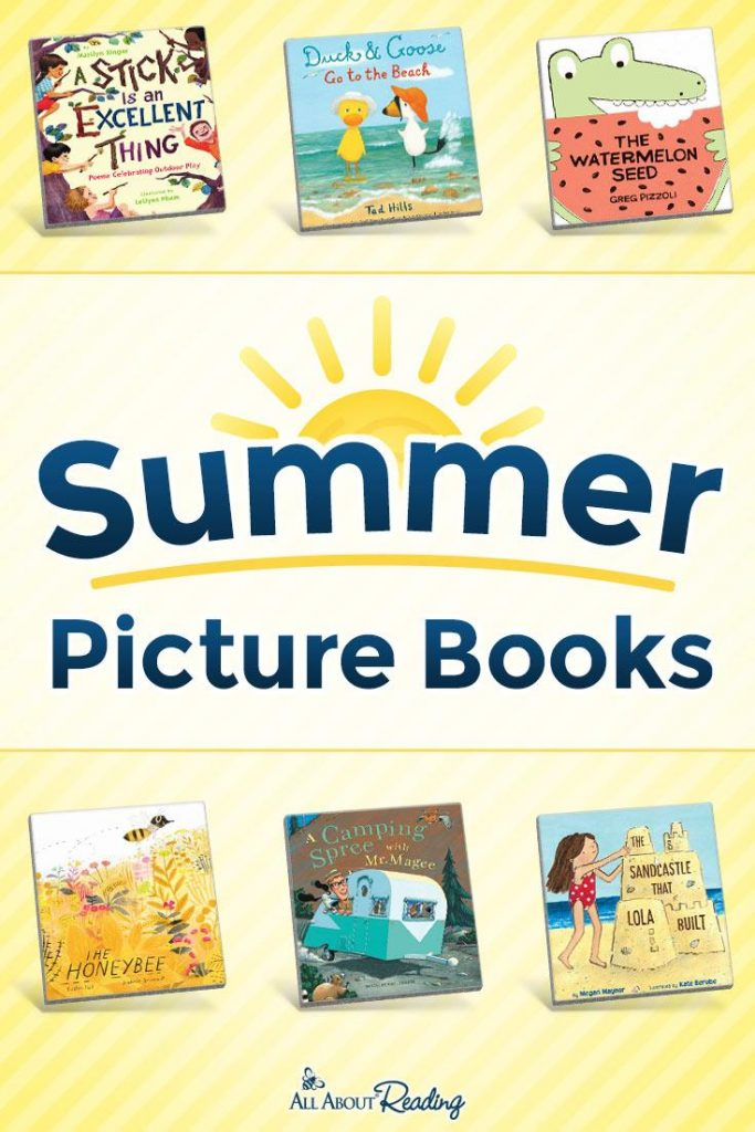 book images for summer picture books