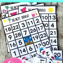 FREE Beach Bingo Game