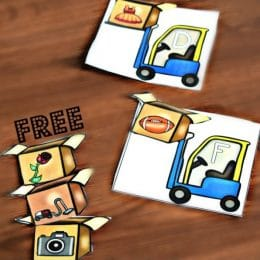 FREE Construction Phonics Game