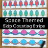 FREE Space-Themed Skip Counting Strips