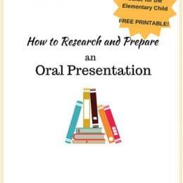 FREE Oral Presentation Guide