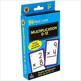 Amazon Deal: 20% Off Multiplication Flashcards