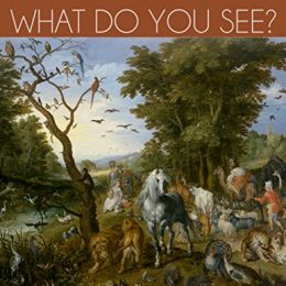 Introduce your child to art with this FREE Kindle Book: What Do You See?