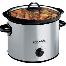 Coming up to a new season, there will be plenty of cooking to be done! Make your life easier and get 10% Off a Slow Cooker on Amazon! #fhdhomeschoolers #freehomeschooldeals #homeschoolmoms #hsmoms #slowcooker