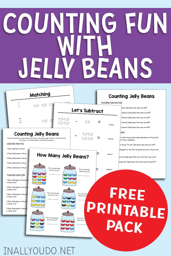 Try out jelly bean math with Counting Fun with Jelly Beans! #freehomeschooldeals #fhdhomeschoolers #homeschoolmath #homeschoolmoms #homeschoolinglife