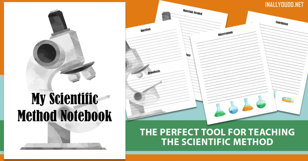 Science doesn't have to be so scary. Check out this Scientific Method Notebook! #fhdhomeschoolers #freehomeschooldeals #hsfreebies #science #homeschoolinglife