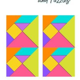Looking for some challenging free time activities for your child? Check out these Printable Tangrams & Puzzles! #fhdhomeschoolers #freehomeschooldeals #homeschoolmath #homeschoolers #homeschooling #homeschoollife