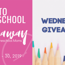 Don't miss out on today's giveaways on Hip Homeschool Moms! Check out 2019 Back to Homeschool Wednesday Giveaways and enter to win! #fhdhomeschoolers #homeschooldeals #hsgiveaways #homeschoolers #homeschoolmoms