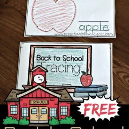 Give your children plenty of pencil grip practice at the start of the year with these Back to School Tracing Worksheets!