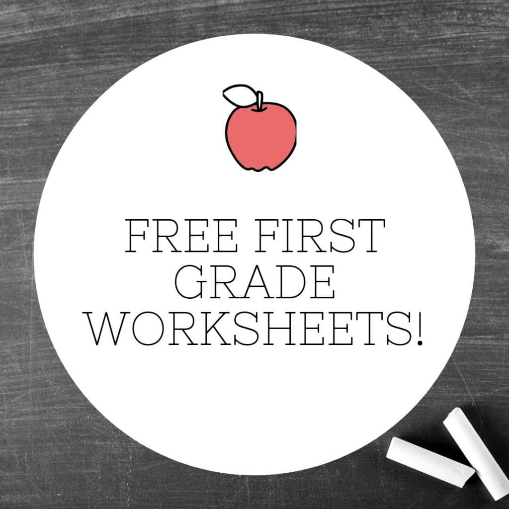 Browse a great collection of FREE First Grade Worksheets to build and foster necessary skills for your young learner's future success! #fhdhomeschoolers #freehomeschooldeals #homeschoolers #hsfreebies #homeschoolmoms