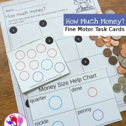 FREE Money Matching Task Cards
