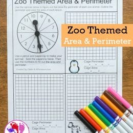 FREE Zoo-Themed Area and Perimeter Printables
