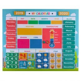 Get 27% Off this Daily Magnetic Calendar! #fhdhomeschoolers #freehomeschooldeals #amazondeals #dailycalendar #hsdays
