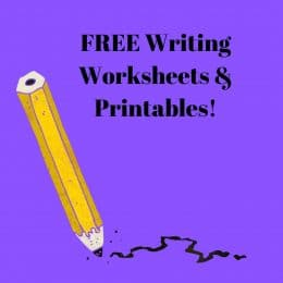 Get all the FREE Writing Worksheets & Printables you need! #fhdhomeschoolers #freehomeschooldeals #homeschoolinglife #writing #hsfreebies