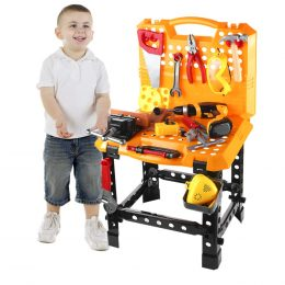 Amazon Deal: 35% Children's Toy Work Bench #fhdhomeschoolers #freehomeschooldeals #amazondeals #finemotorskills #hsmoms
