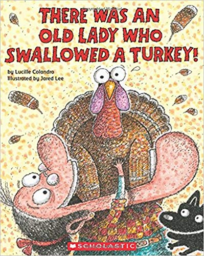 Get this Amazon Deal: 15% Off There Was an Old Lady Who Swallowed a Turkey! #fhdhomeschoolers #freehomeschooldeals #amazondeals #homeschoolreading #hsdeals