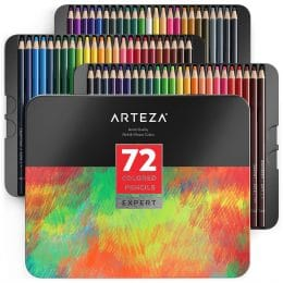Amazon Deal: 24% Off Professional Colored Pencils Set #fhdhomeschoolers #freehomeschooldeals #amazondeals #homeschoolart #hsmoms