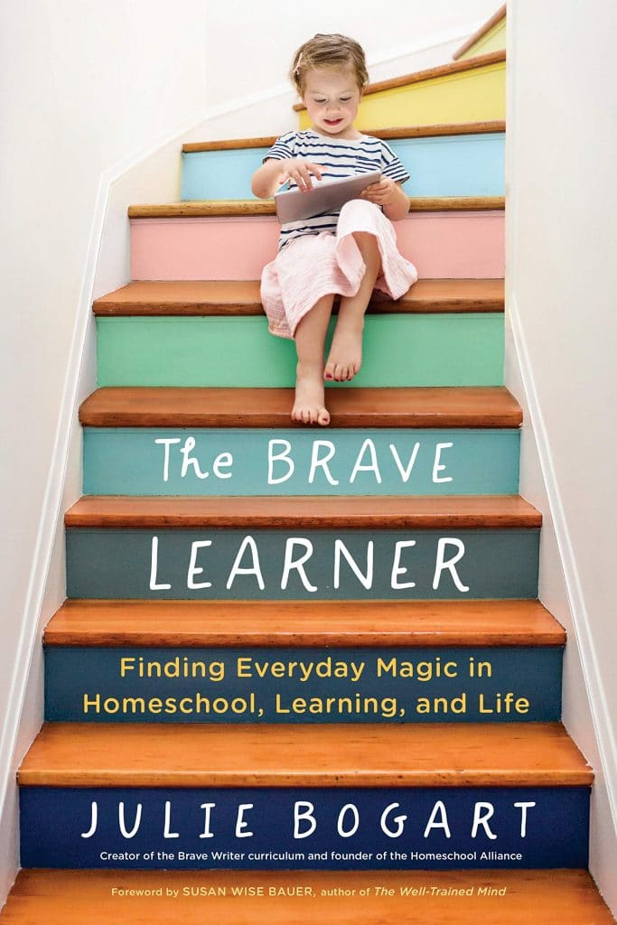 """Homeschool days can be long and hard. Get encouragement and learn from a homeschool veteran in """"The Brave Learner."""" Get it now for up to 32% off! #amazondeal #homeschooling #homeschoolers #freehomeschooldeals #fhdhomeschoolers"""