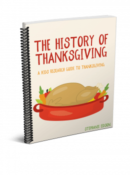 Get your kids researching with this FREE History of Thanksgiving Research Guide! #fhdhomeschoolers #freehomeschooldeals #fallresources #hsdays #homeschoolers