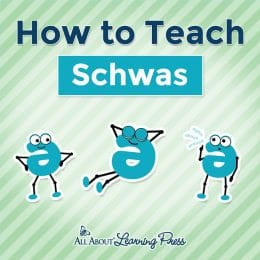 """how to teach schwas with animated """"e"""""""