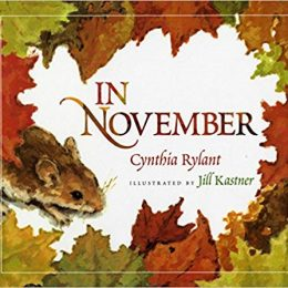 Get this Amazon Deal: 25% Off In November by Cynthia Rylant! #fhdhomeschoolers #freehomeschooldeals #amazondeals #homeschoolreading #fallresources