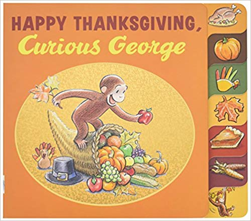Grab this Amazon Deal: 34% Off Happy Thanksgiving, Curious George! #fhdhomeschoolers #freehomeschooldeals #amazondeals #thanksgiving #homeschoolinglife