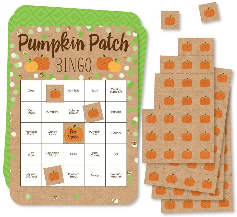 Grab this Amazon Deal: 6% Off Pumpkin Patch Bingo Set! #fhdhomeschoolers #freehomeschooldeals #amazondeals #thanksgiving #homeschoolgames #homeschoolmamas
