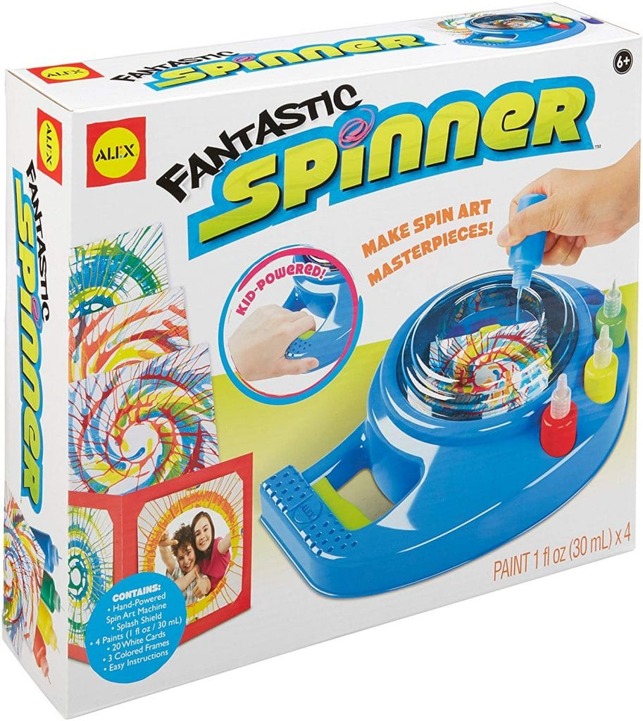 Grab this Amazon Deal: 60% Off Art Spinner! #fhdhomeschoolers #freehomeschooldeals #amazondeals #homeschoolart #hsmamas