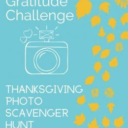 This November, check out this FREE Thanksgiving Photo Scavenger Hunt & Gratitude Challenge! #fhdhomeschoolers #freehomeschooldeals #thanksgiving #fallresources #hsdays
