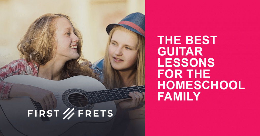 For a limited time, get 30% Off First Frets Guitar Lessons! #fhdhomeschoolers #freehomeschooldeals #hsmamas #homeschoolmusic #hsdays
