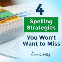 Check out these 4 Spelling Strategies + more!! #fhdhomeschoolers #freehomeschooldeals #hsmamas #homeschoolspelling #elementary