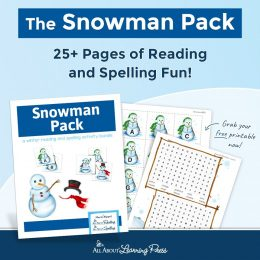 If your child loves snowmen, then you'll love this FREE Snowman Pack! #fhdhomeschoolers #freehomeschooldeals #christmasresources #snowmen #hsmoms