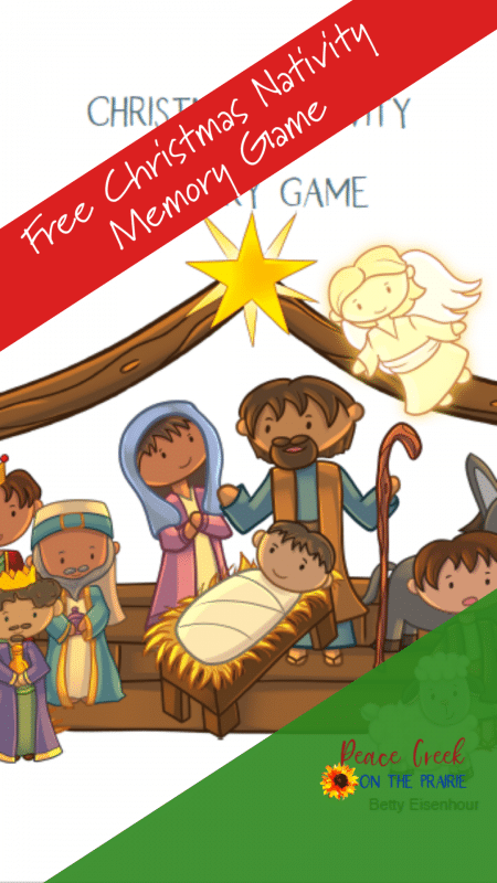 Memory Game Christmas Nativity Printable #nativitymemorygame #christmasmemorygame #fhdhomeschoolers #freehomeschooldeals FREE Memory Game Christmas Nativity Printable