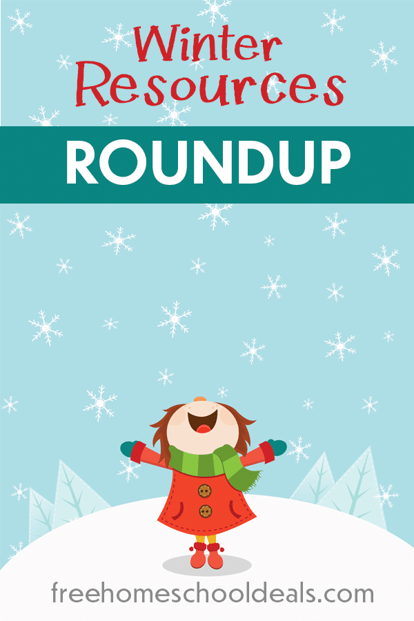 Winter is finally here, but that doesn't mean you have to be stuck inside just waiting for warmer weather. Check out some of the Top Winter Resources over at Free Homeschool Deals. #winter #winterresources #fhdhomeschoolers #freehomeschooldeals
