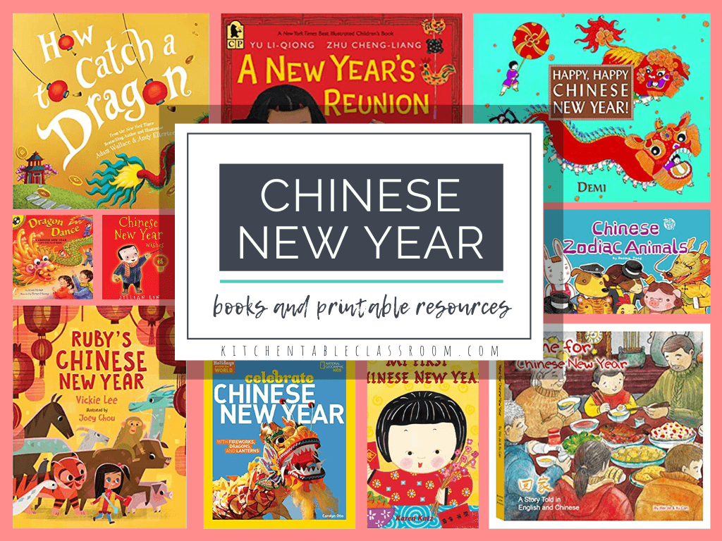 FREE printables about the Chinese New Year. #fhdhomeschoolers #freehomeschooldeals #ChineseNewYearprintables