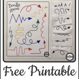 FREE Printable Visual Discrimination Game.