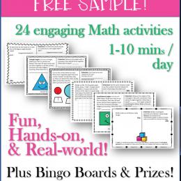 FREE fun math activities.