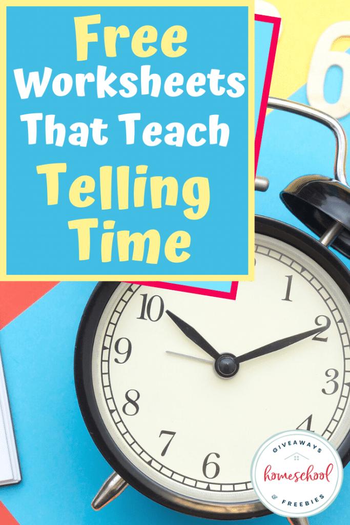 Telling time FREE worksheets. #tellingtimeworksheets