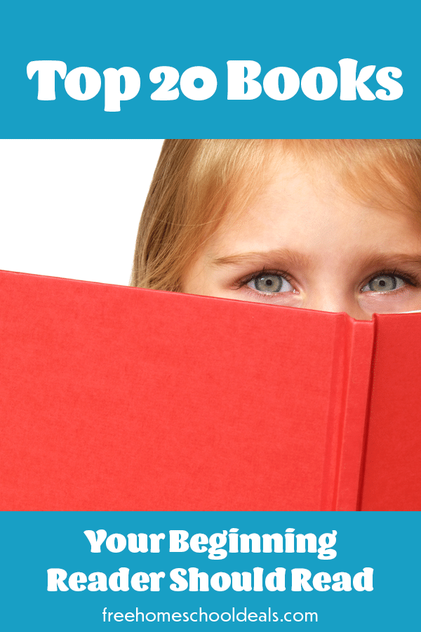Is your little one just starting out? Check out the Top 20 Books Your Beginning Reader Should Read! #fhdhomeschoolers #freehomeschooldeals #youngreaders #hsmoms #homeschoolreading