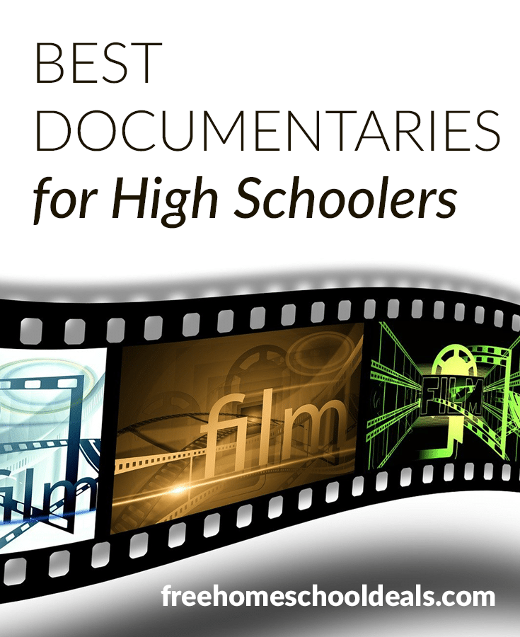 Explore the world through film with these Best Documentaries for High Schoolers! #fhdhomeschoolers #freehomeschooldeals #documentarylearning #highschoolers #hsdays