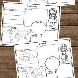 FREE Worksheets about Children around the World.
